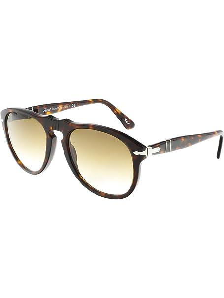 18af6a6986 Persol Sunglasses 0649 24 51 Havana Brown Gradient Steve McQueen 54mm   Persol  Amazon.ca  Clothing   Accessories