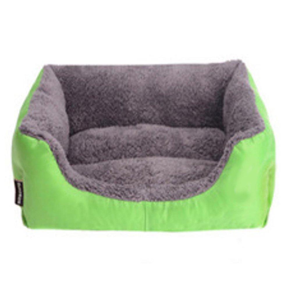 B 95cm75cm18cm B 95cm75cm18cm Daeou Pet mat Cloth Rectangular Pet Mat Kennel Cat Nest