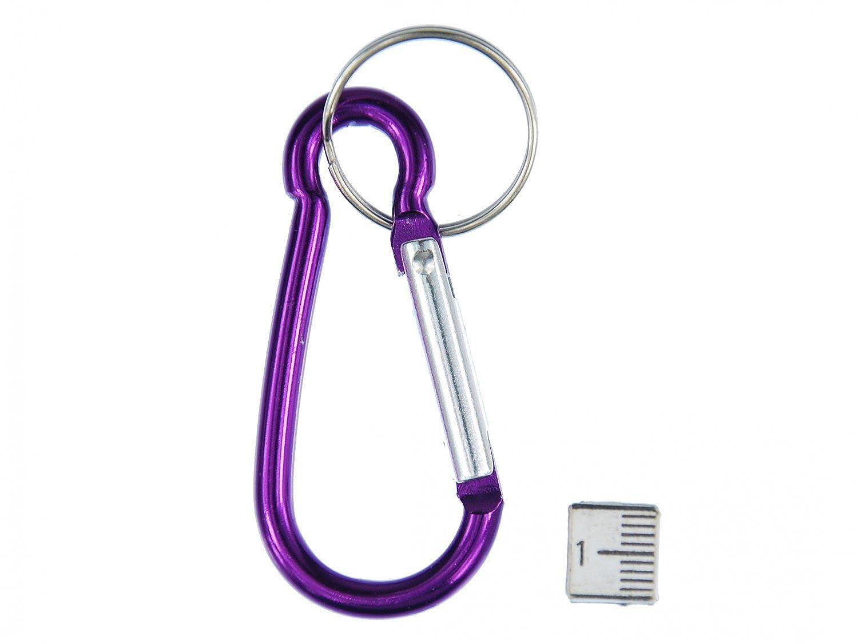 Karabiner Schlüsselanhänger Miniblings Anhänger Schlüsselring Klettern lila