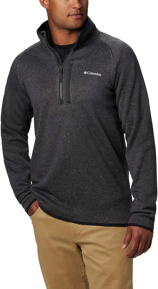 Columbia Men's Canyon Point Sweater Fleece 1/2 Zip, Soft Fleece, Classic Fit