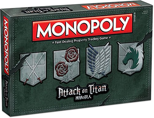 USAopoly Monopoly: Attack on Titan Board Game for $<!--$79.99-->