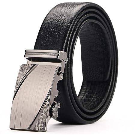 Belt CinturóN para Hombre, Hebilla Deslizante AutomáTica ...