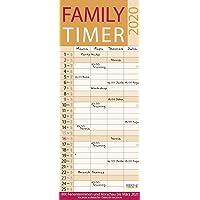 Family Timer Lifestyle 2020: Familienplaner mit 4 breiten Spalten. Hochwertiger Familienkalender mit Ferienterminen, Vorschau bis März 2021 und nützlichen Zusatzinformationen.