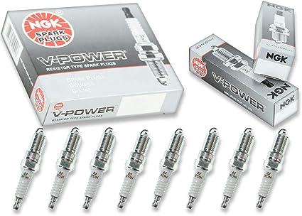 NGK V-Power – Juego de bujías GMC Yukon 00 – 14 Denali 4.8l 6.0L 6.2L 5.3L V8: Amazon.es: Coche y moto