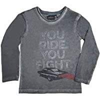Fast and Furious Boys T-Shirt You Ride You Fight - 9-10 Years - Grey