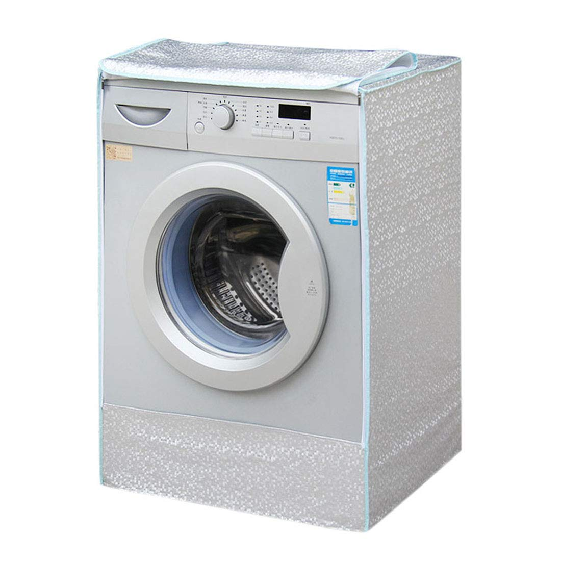 Pinji Front Washing Machine Cover Dust Protective Waterproof Dryer (23''x25''x33'')