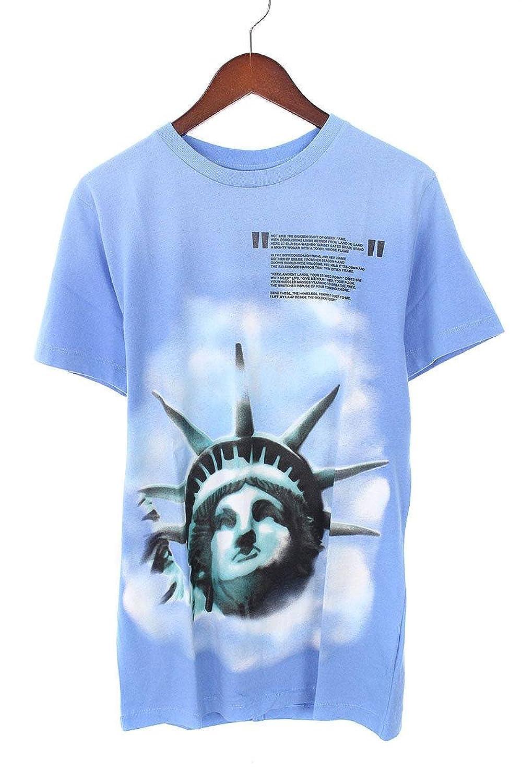 (オフホワイト) OFF-WHITE 【18AW】【LIGHT BLUE LIBERTY S/S T-SHIRT】リバティープリントTシャツ(XS/ブルー) 中古 B07FQ2PJN1  -