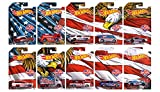 2016 Exclusive Hot Wheels Stars & Stars Complete Set of All 10 Cars