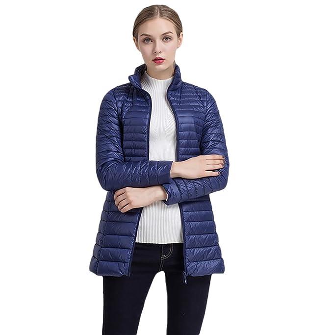 reputación confiable exuberante en diseño varios colores chaquetas deportivas cazadoras de plumas de mujer abrigo ...
