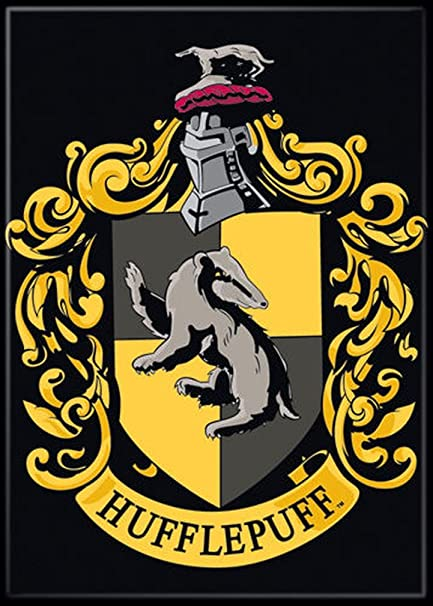 Amazon Ata Boy Harry Potter Hufflepuff Crest 25 X 35 Magnet