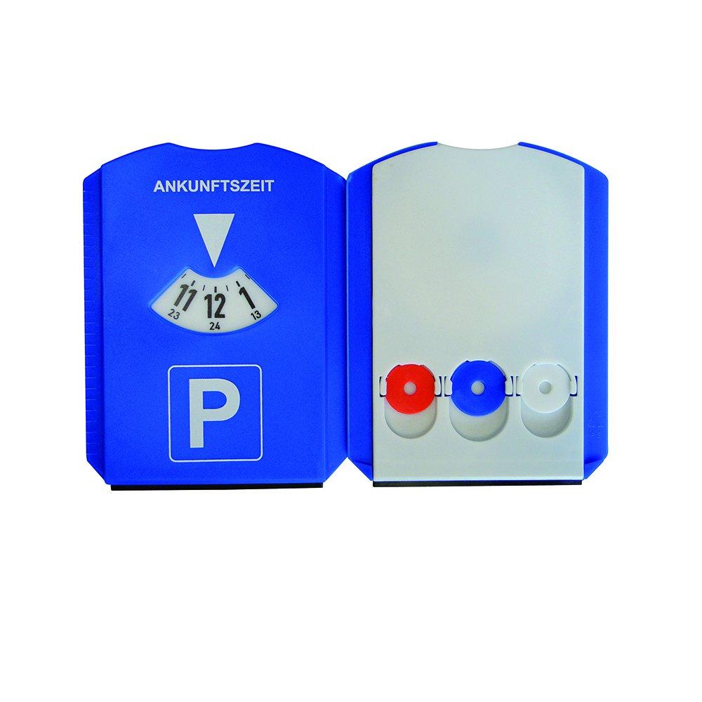 en plastique bleu Unitec voiture 84501/Unitec Disque de stationnement multifonction