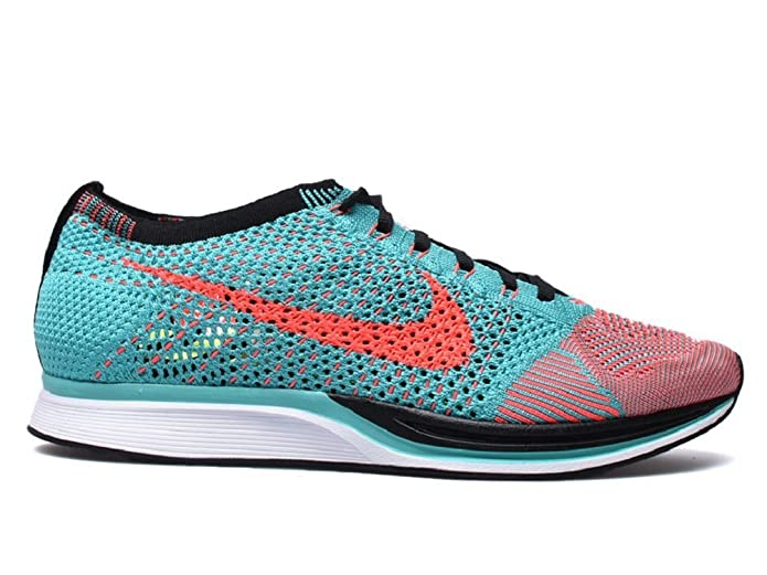 202a76ba7ecf Nike Flyknit Racer Hyper Jade Hyper Punch Size 12 (526628 306)  Amazon.ca   Shoes   Handbags