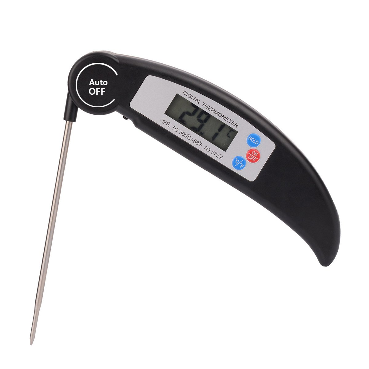 Meat Thermometer - JS-2701 Digital Food Cooking Thermometer Instant Read Meat Thermometer Kitchen BBQ Grill Smoker