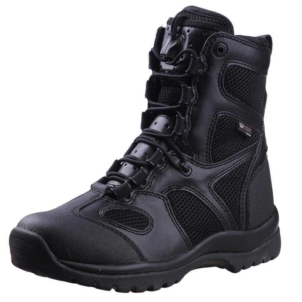 FXMYL Leichter Angriff Kampfstiefel Ultra Leichte Atmungsaktive Taktische Stiefel Wandern Schuhe Militärische Schuhe Stiefel