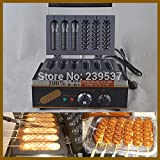 hot dog roaster machine - Hot dog roaster| American hot dog maker|French muffin hot dog machine|Philippines hot dog maker 6 grids 220V 50Hz, waffle maker