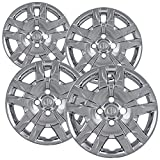 nissan 2008 hubcaps - Hubcaps for Nissan Sentra (Pack of 4) Wheel Covers - 16 inch, Snap On, Chrome
