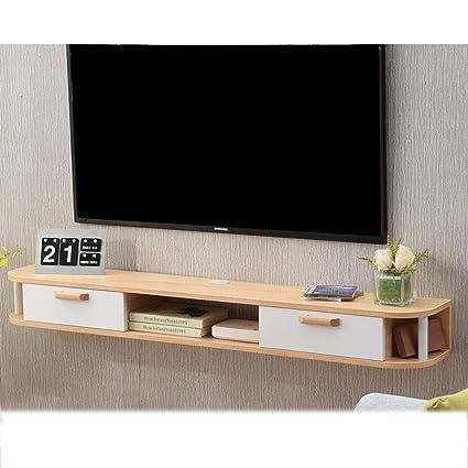 Gave Tv Meubel.Flysxp Wall Mounted Tv Rack Shelf Cabinet Media Entertainment