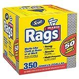 Scott geuTAU Rags in a Box, 350 Count (2 Pack)