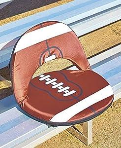 FOOTBALL 5-POSITION RECLINING SEAT PORTABLE RECLINER OUTDOOR PICNIC HOME D¨¦COR ;PMN#4534TG48 3464YHREx49564