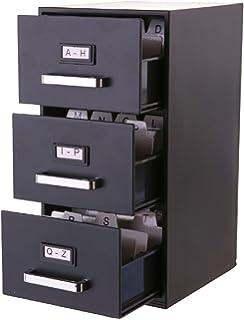 Amazon vintage gray tower sears roebuck co metal index card forum novelties mini 3 drawer filing cabinet business card holder colourmoves