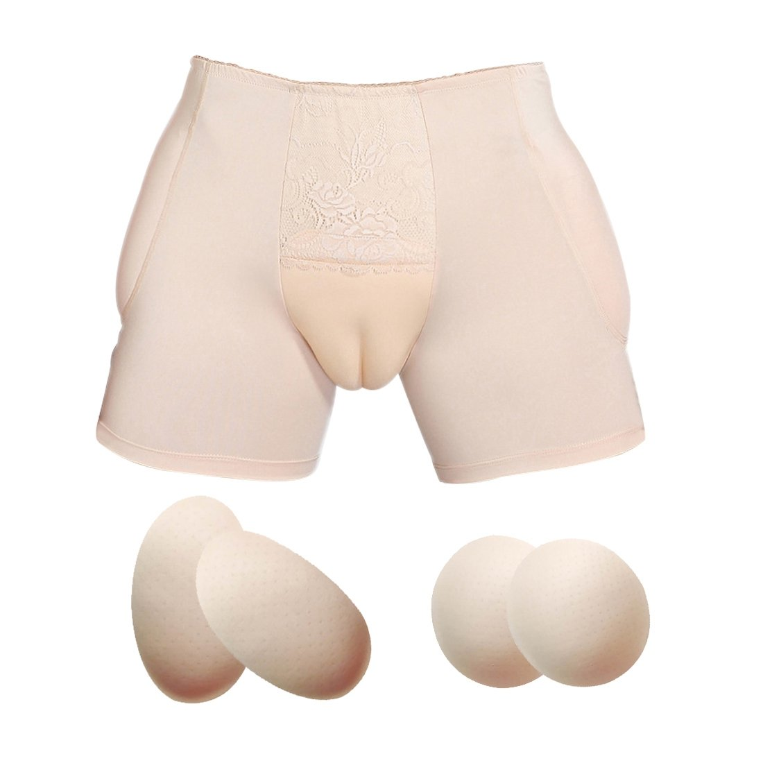 Xingyue Camel Toe Shaper Brief Hiding Gaff Panty for Men Crossdresser YV0201-1-2M/XYCA