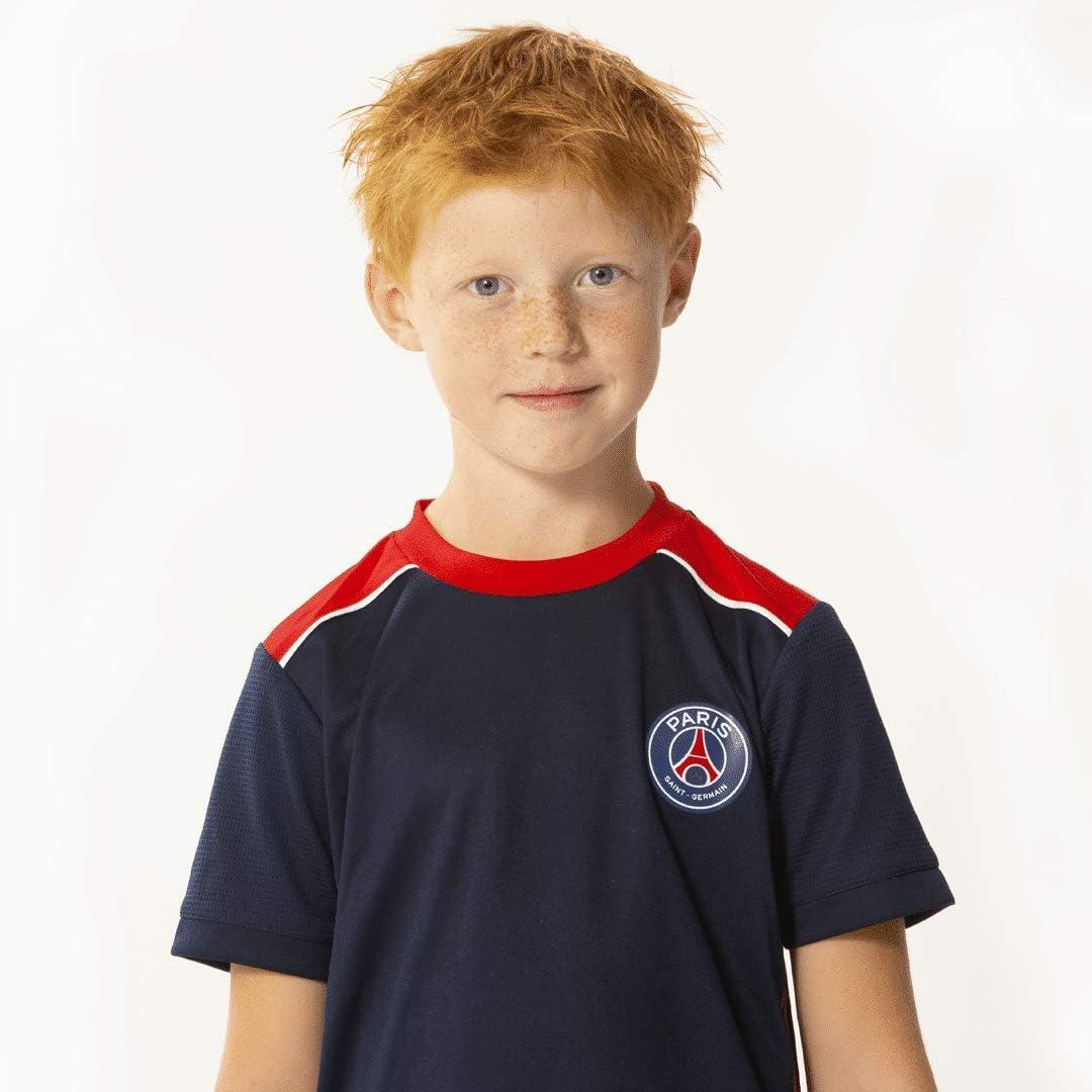 PARIS SAINT GERMAIN Camiseta + Pantalón Corto PSG - Colección Oficial Talla niño 14 años: Amazon.es: Deportes y aire libre