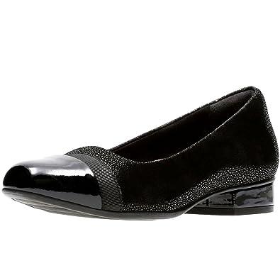 c6cc59b575 Clarks Keesha Rosa Womens Narrow Casual Shoes 6.5 Black Interest ...