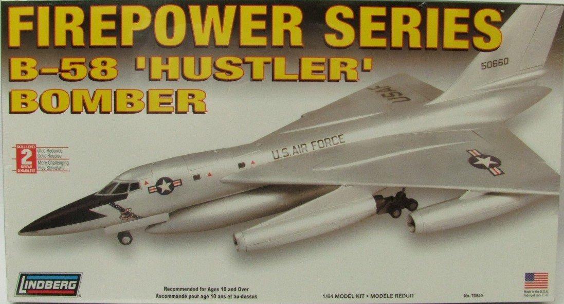 Lindberg B-58 Hustler Bomber