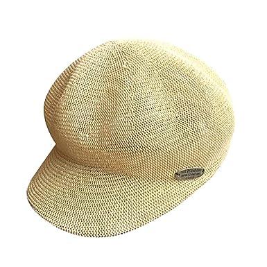 Gorros Damas Sombrero para El Sol Elegante Sombrero Ocio Verano De ...