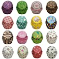 SophieBella Selected Baking-Cups-Value-Pack Cupcake-Liners for Party, Holiday, Baby-Shower