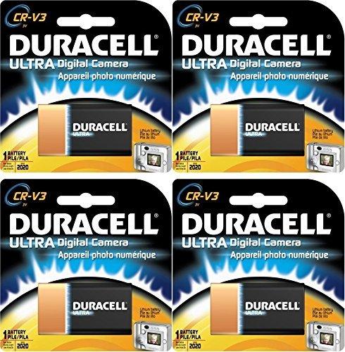 Duracell Crv3 Battery - 4 Duracell Lithium CRV3 Ultra Digital Camera CR-V3 Batteries
