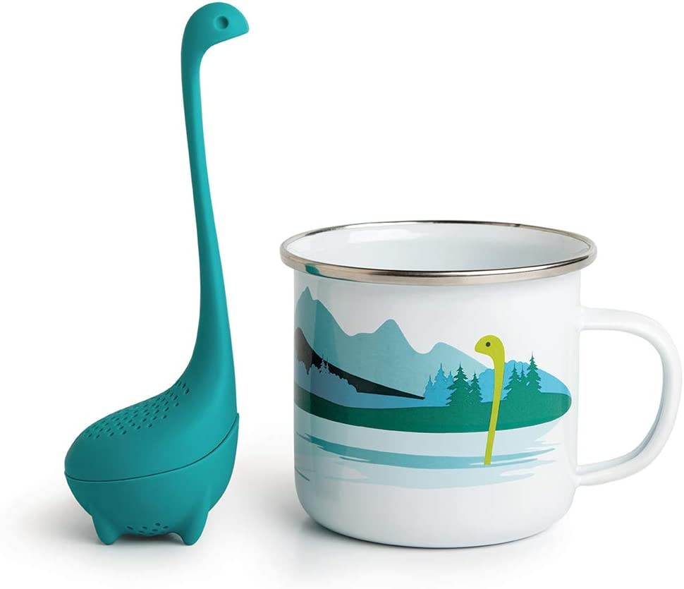 CUP OF NESSIE + Baby Nessie Tea Infuser Set by OTOTO