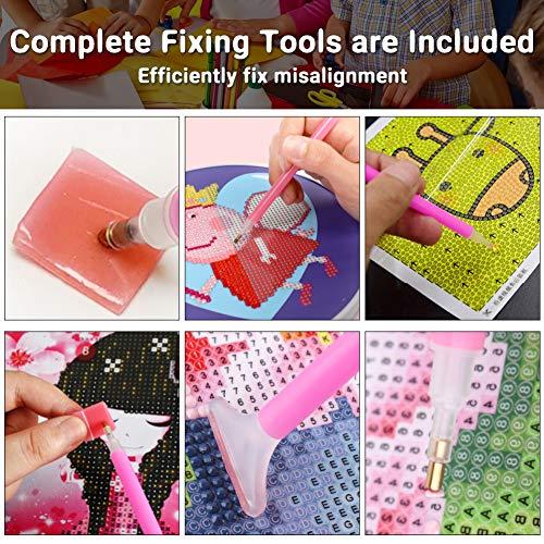 BigOtters Diamond Painting Tool, 29PCS 5D Diamond Painting Accessory Kit for Adult Kid DIY Art Craft Project
