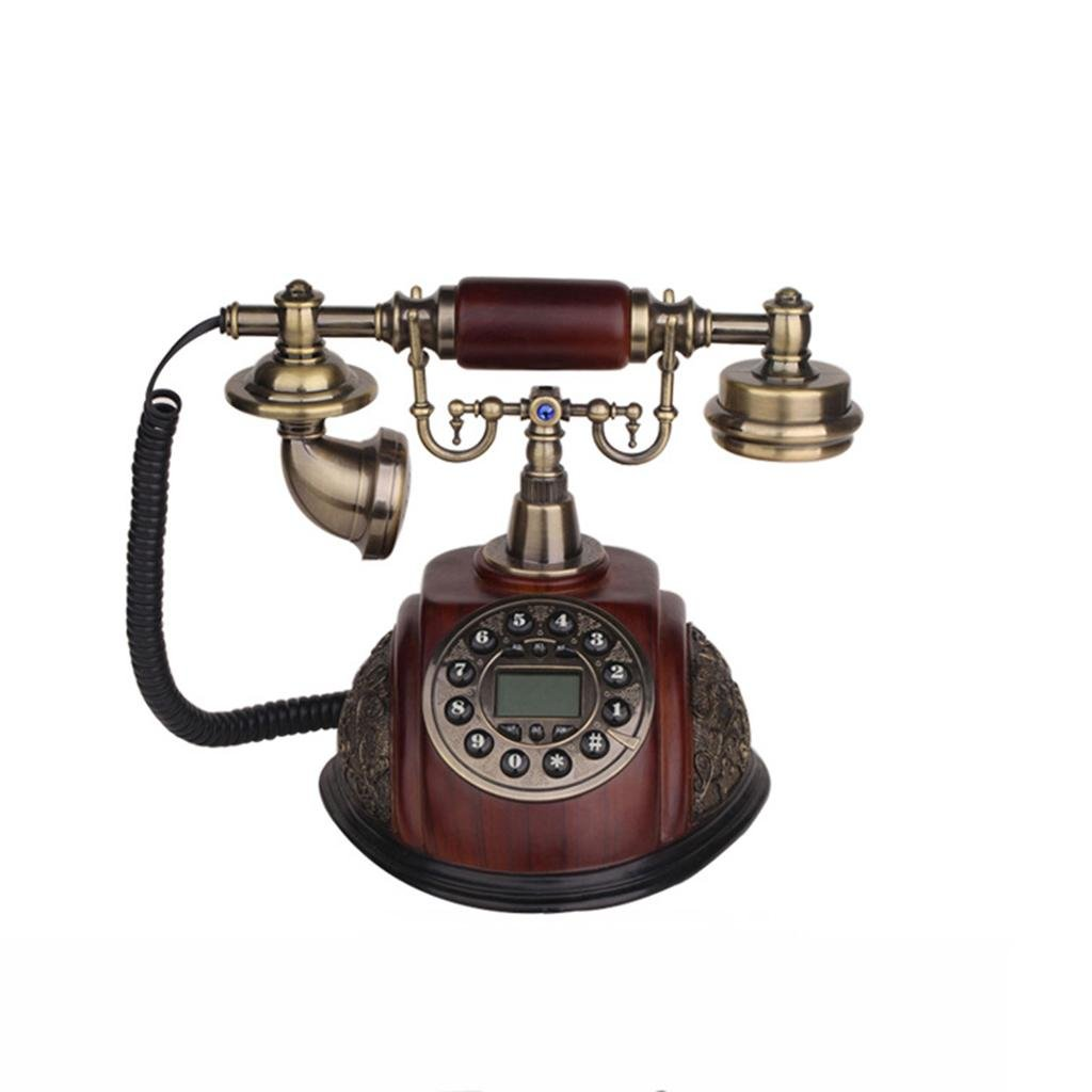 LLP LM Home phone Landline Retro Old style Telephone Caller ID