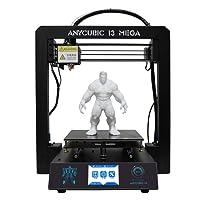 anycubic Prusa I33d impresora pantalla LCD USB SD Tarjeta 3d printer DIY Kit Set, I3 Mega, 1