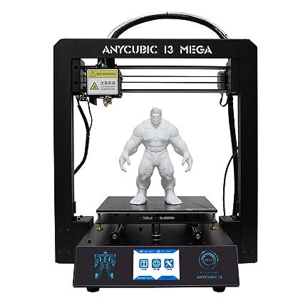 ANYCUBIC I3 Mega 3D Drucker Kit mit Ultrabase Heizbett und 3,5 Zoll TFT...