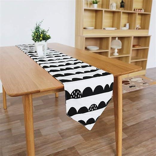 Las Mesas de Comedor Minimalistas nórdicas en Blanco y Negro con ...