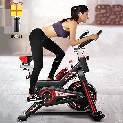 Zhipeng - Bicicleta estática para interiores (250 kg, para pérdida de peso, para hacer ejercicio, para el hogar, fitness, bicicleta de pérdida de peso, bicicleta de spinning hsvbkwm: Amazon.es: Deportes y aire
