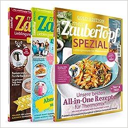 3 Ausgaben mein ZauberTopf Sammlung, lecker Kochen, Backen und ...