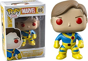 Funko Pop, Marvel X-Men Ciclops, Unmasked, Limited, Vinyl ...