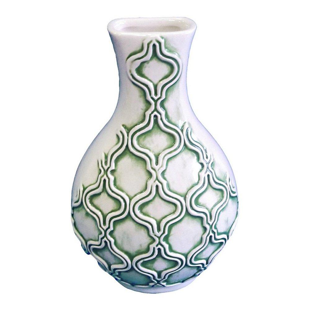 Turtle King Green Wall Vase
