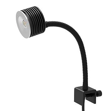 Luz LED Acuario Asta 20, Iluminacion LED para Acuarios Marino Lampara LED para Peceras 30~45cm con Control Remoto(Enchufe de la UE): Amazon.es: Productos ...
