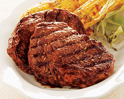 Kansas City Steaks Father's Day Gift Combo 6 (10oz.) Boneless Ribeye Steaks and 6 (5oz.) Cheddar & Bacon Twice Baked (Twice Baked Potato)