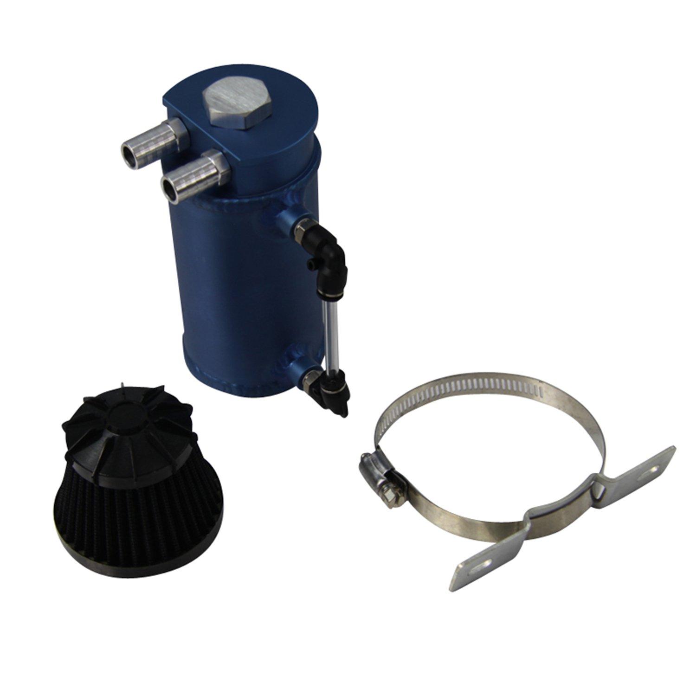 ALLOYWORKS Pro Aluminum Oil Reservoir Catch Can Tank W/ Breather Filter Baffled by ALLOYWORKS (Image #5)