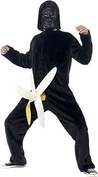 Divertido disfraz de mono para disfraz de gorila de peluche gorila ...