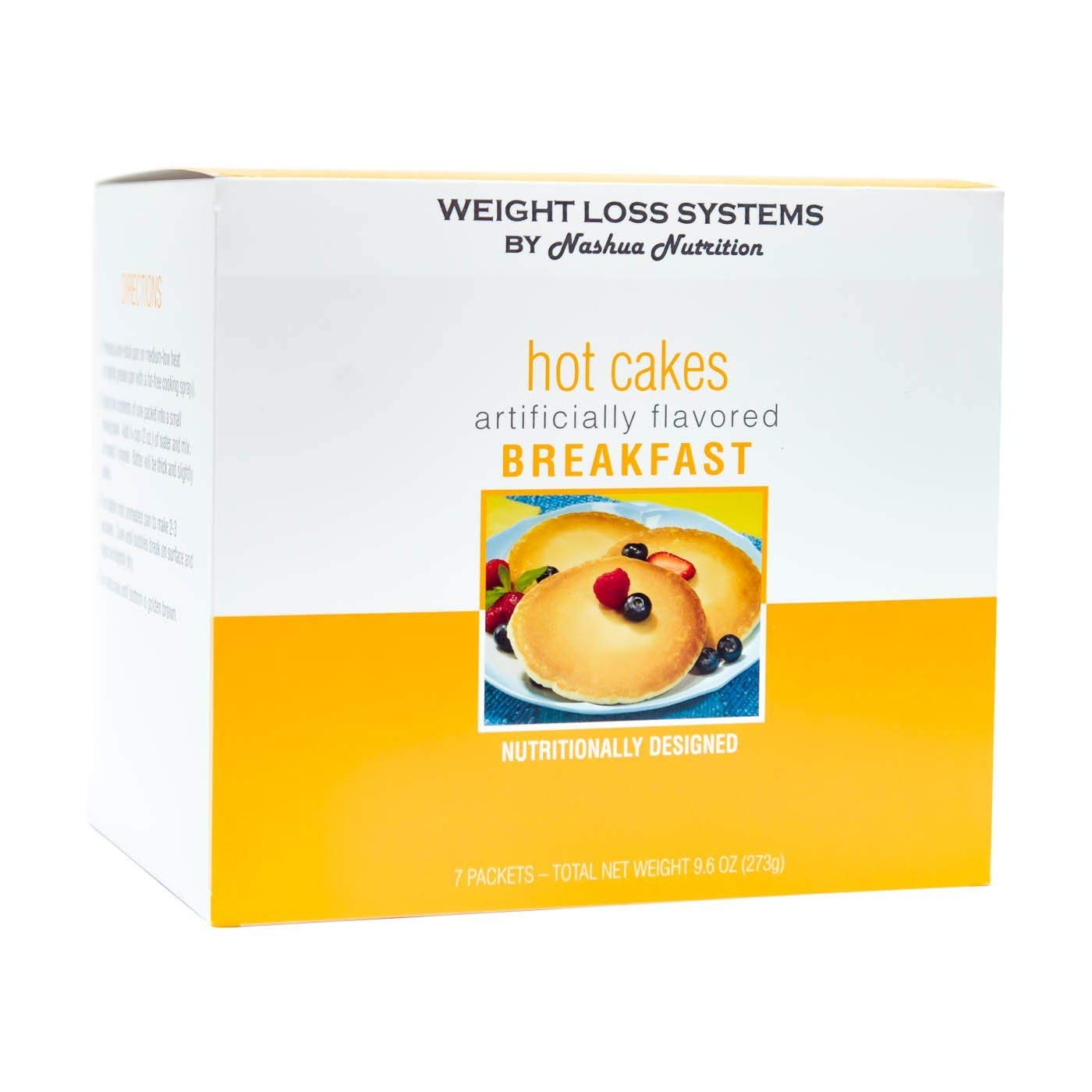 Weight Loss Systems - Pancakes - Low Sugar, High Protein, 7 ct
