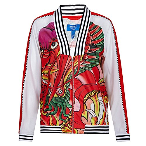 9a318d2d5 Adidas Women's Rita Ora Dragon Print Track Jacket, Large - Buy ...