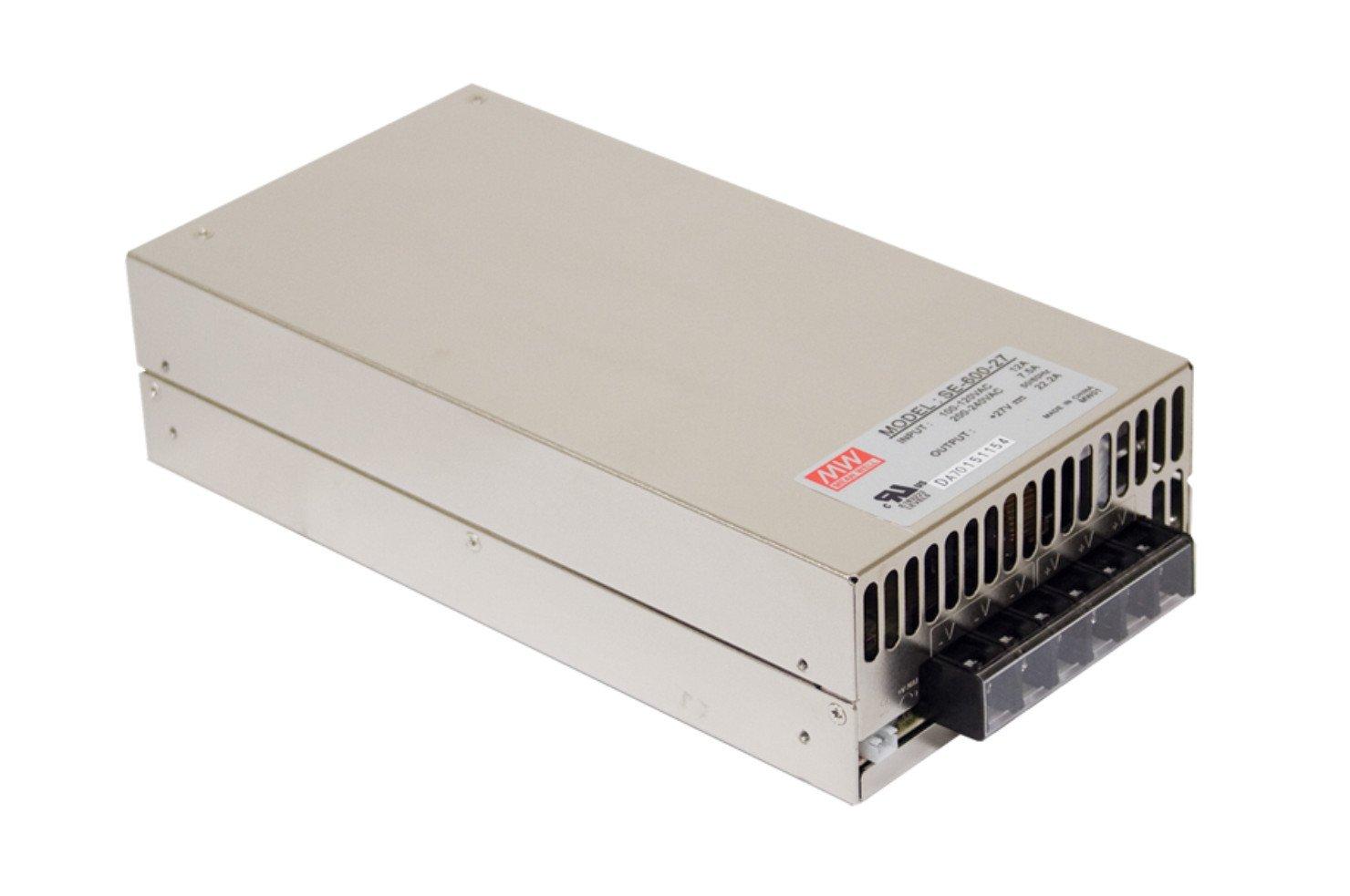 MEAN WELL original SE-600-5 5V 100A meanwell SE-600 5V 500W Single Output Power Supply