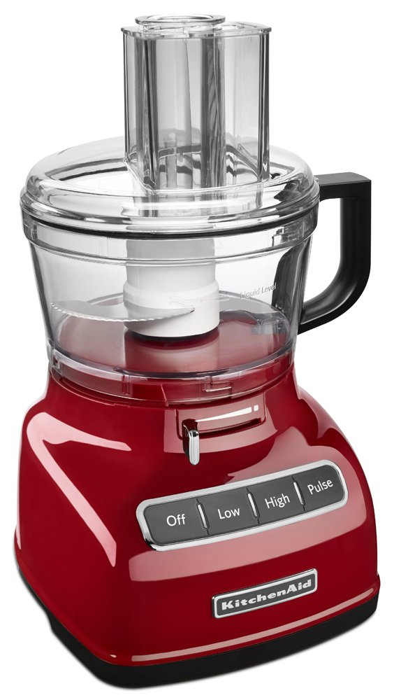 Amazon.com: KitchenAid KFP0722ER 7 Cup Food Processor With Exact Slice  System   Empire Red: Kitchen U0026 Dining