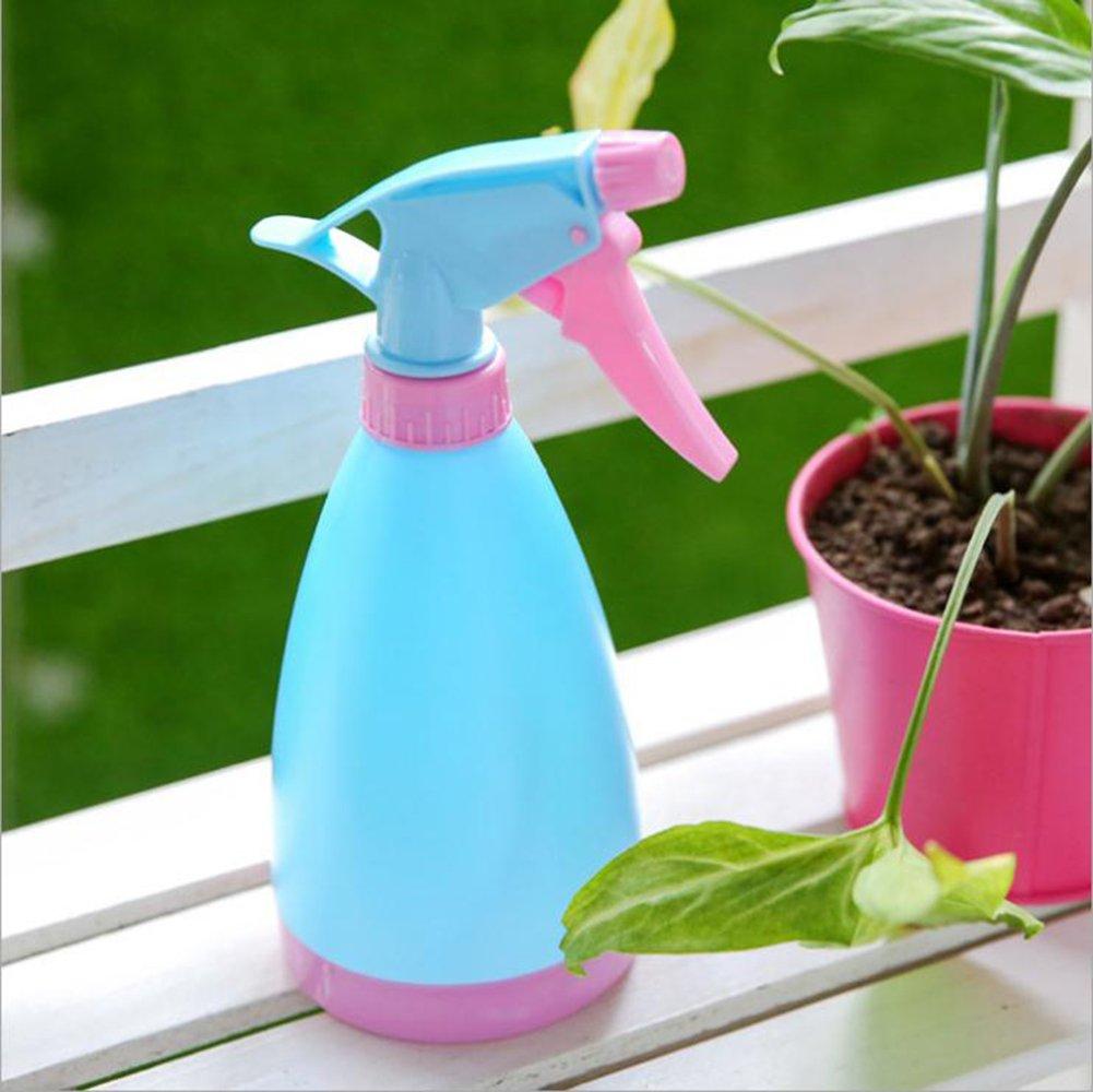 LZHA Nueva Mano Vacía Gatillo Pulverizador De Agua Planta De Limpieza De Botellas De Plástico Jardinería,White: Amazon.es: Deportes y aire libre